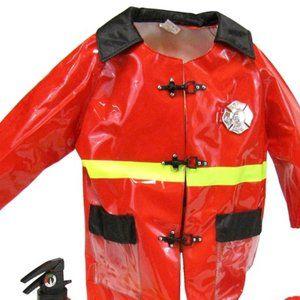 Firefighter Jacket Costume Rain Jacket